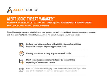 Threat Manager Product Overview