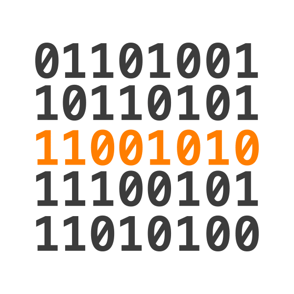Security Operations Services - image of binary numbers