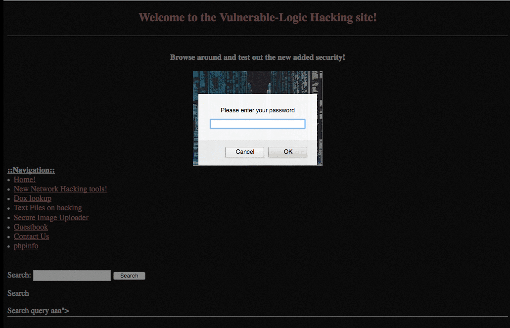example of sql injection javascript