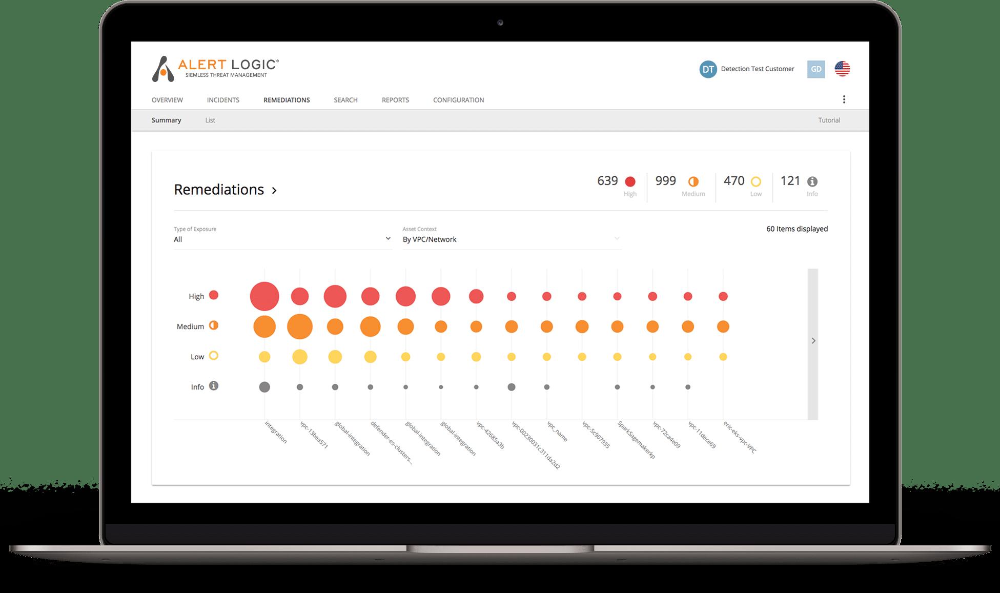 managed vulnerability services screenshot